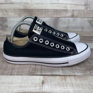 Converse Slip On Chuck Taylor Black Shoes 9